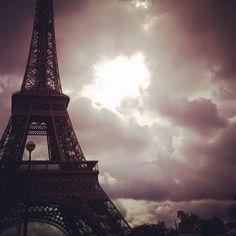 #tower #París #France #sunset