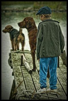 Best buddies in the rain