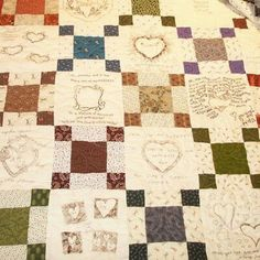 Memory Quilt for Shelley