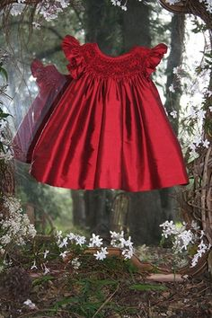 Bishop made of raw silk  this is my idea of what a little girls dress is suppose to look like