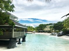 Plantation Bay Rooms swimming lagoons view plus Kilimajaru Kafe on the left Tropical Beach Resorts, Luxury Beach Resorts, Best Resorts, Camotes Island Cebu, Bantayan Island Cebu, Beautiful Islands, Beautiful Beaches, Paradise Beach Resort, Kalanggaman Island