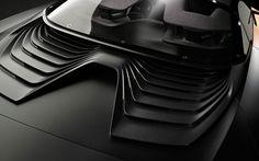 Peugeot Onyx Concept Car Grille detail