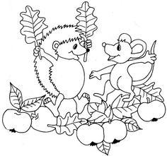 Die 192 Besten Bilder Von Ausmalbilder Herbst Coloring Pages