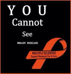 Multiple Sclerosis awareness...