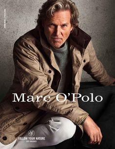 Jeff Bridges for Marc O'Polo Fall/Winter 2014 Ad Campaign Jeff Bridges, Lloyd Bridges, Best Hairstyles For Older Men, Vanity Fair, Mature Mens Fashion, Marken Outlet, Victor Hugo, Classic Man, Gentleman Style