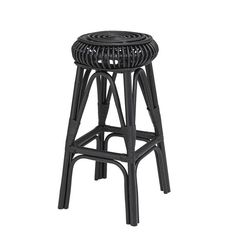 Buy the Bloomingville Rattan Haze Bar Stool today! We offer a truly Unique Shopping Experience with Award Winning 5 Star Customer Service, Great Deals and Huge Savings! Rattan Bar Stools, Bar Stool Seats, Black Bar Stools, Ebony Color, Velvet Stool, Breakfast Bar Stools, Small Stool, Leather Stool, Oak Dining Table