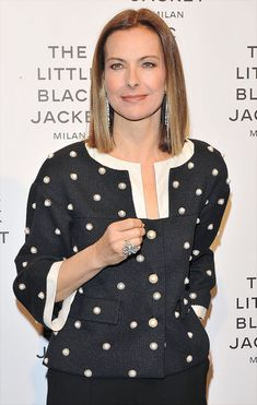 Carole Bouquet attends Chanel The Little Black Jacket - Karl Lagerfeld Photography Exhibition Dinner Party on April 4, 2013 in Milan, Italy. - 1 of 9