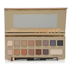 IT Cosmetics Naturally Pretty Matte Eyeshadow Palette with Shadow Brush