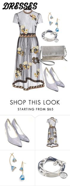 """dress"" by masayuki4499 ❤ liked on Polyvore featuring Chanel, Elie Saab, Tory Burch, Lizzy James and Stella & Dot"