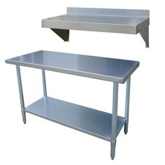 Stainless Steel Kitchen Tables