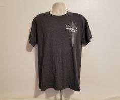 Circuit of The America's Adult Large Gray T-Shirt #Gildan #GraphicTee