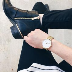 "styled by NOIR on Instagram: ""Time to get a new watch? Check out all out favorites from Cluse #ontheblog #cluse"""