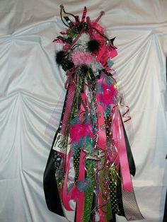 Homecoming mum made by : Leisa Black Hergert @ Leisa's House of Flowers ...FB