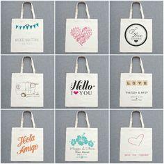 Detalle para invitados: bolsas personalizadas | AtodoConfetti - Blog de BODAS y FIESTAS llenas de confetti