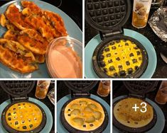 chaffles I've tried, pretty good! Definitely add buffalo sauce to ranch, Low Carb Waffles, Low Carb Bread, Keto Bread, Low Carb Keto, Low Carb Recipes, Cooking Recipes, Healthy Recipes, Protein Recipes, Healthy Sweets