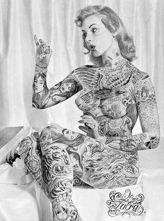 "slobbering: "" Dr. Lakra (Jeronimo Lopez Ramirez), Tattoo Artist """