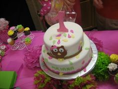 Cake at a Owl Party #owlparty #cake