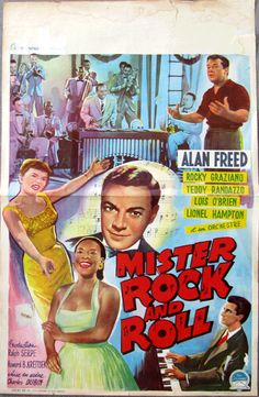 Rock and Roll movie posters | Name: GRAZIANO, ROCKY MOVIE POSTER (MR. ROCK AND ROLL-