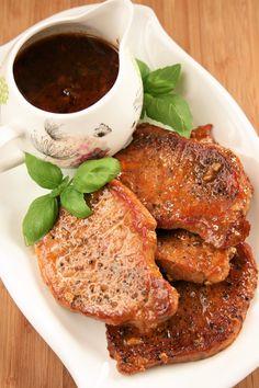 sio-smutki! Monika od kuchni: Schab duszony w sosie z papryką i musztardą