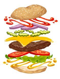 Burger games, cartoon recipe, five guy burgers, food graphic design, food b Burger Games, Burger Party, Cartoon Recipe, Mcdonalds Birthday Party, Food Graphic Design, Food Backgrounds, Food Drawing, Logo Food, Food Themes