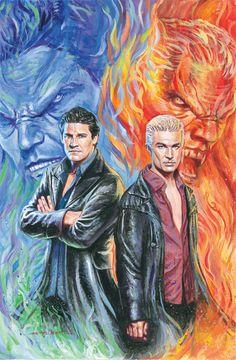 Angel <3  Spike <3 David Boreanaz <3 <3 <3