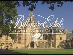 Old Biltmore Estate DVD in from 2008 -at least the DVD says but it could be a bit older. Beautiful Wife, Beautiful Homes, Asheville North Carolina, Biltmore Estate, Grand Hotel, Historical Sites, Vacation Trips, Cinematography, Places To Visit