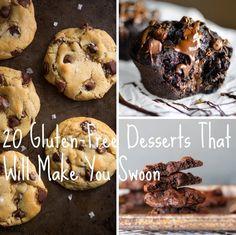 You Must Try These Gluten-Free Desserts. No.15 Is Stunning! #GlutenFree #Desserts