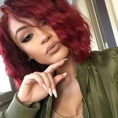 S P R I N G  R E A D Y  Pretty RED By @mickeygonzalez_ Loving The Body In Her B O B!! #RedHAIR #RED #HairColor #HairSTYLES #SpringHAIR #SPRINGREADY #Stunner #NewLOOK #HotHAIR #SheDidThat #DopeHAIR #HairOfTheDay #HairOBSESSED #IGHAIR #HairTALK #SexyHAIR #BANGING #BEAUTY #PrettyGirls #GLAM #DCSALON #DMVSTYLIST #DCHAIRSTYLIST #DMVHAIRSTYLIST #LAHAIR #LAHAIRSTYLIST #1HAIRBYGINA  by 1hairbygina