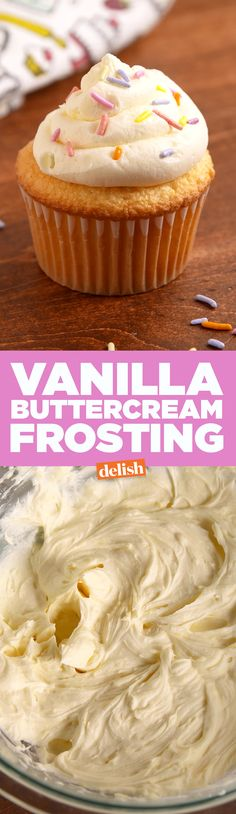 You'll never have to search for a frosting recipe again. Get the recipe on Delish.com.