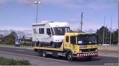 Dolly, our first motorhome.with a little help from French roadside recovery. Motorhome, Recreational Vehicles, French, Shopping, French People, Rv, French Language, Mobile Home, Caravan