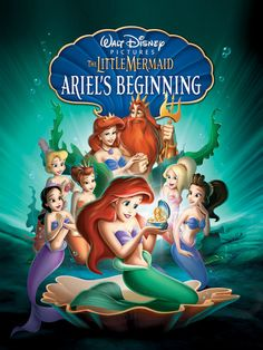 """But the third Mermaid movie, the prequel Ariel's Beginning, is less known. 