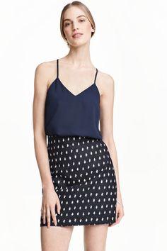Jacquard-weave skirt