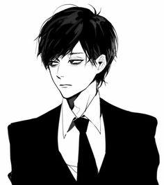 """Résultat de recherche d'images pour """"anime boy black hair"""""""