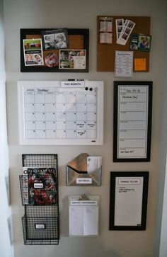 How to Easily Build a Command Center How to increase organization by building a quick and inexpensive command center. How to Easily Build a Command Center How to increase organization by building a quick and inexpensive command center. Small Apartment Organization, Apartment Hacks, Budget Apartment Decorating, Office Wall Organization, Apartment Office, Apartment Interior, College Apartment Decorations, Organization Ideas For Bedrooms, Apartment Ideas College