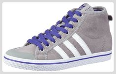 adidas Originals HONEY STRIPES M Q34211, Damen Sneaker, Grau (ALUMIN/RUNWH), EU 38 2/3 - Sneakers für frauen (*Partner-Link)