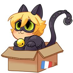 """toriitorii: """"have a transparent cat in a box I also submitted this as a tshirt design """""""