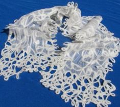 Felted Scribble Lace Scarf Instructions http://iagarb.com/patterns/felted-scribble-lace-scarf-pattern/