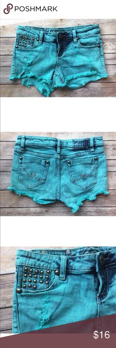 Revolution by revolt Size 5 blue shorts In excellent condition no stains rips or holes revolotion by revolt Shorts Jean Shorts
