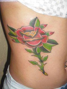 #traditional #traditionaltattoos #oldschool #oldschooltattoos #tattoo #tatuagem #rose #rosa
