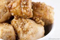 We love lean chicken because it's so versatile, and our Sesame Honey Chicken recipe is no different. Serve it up with a side of brown rice or one of our fresh, tasty salad recipes, and you won't be disappointed. This chicken is A-M-A-Z-I-N-G. The kids will love it, and so will you!