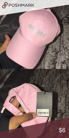 Pink goal digger hat Brand new Forever 21 Accessories Hats