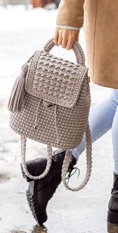 40 Free Crochet Bag Patterns and Hand Bags 2019 Page 33 of 39 2019 crochet patterns free; The post 40 Free Crochet Bag Patterns and Hand Bags 2019 Page 33 of 39 2019 appeared first on Knit Diy. Crochet Backpack Pattern, Free Crochet Bag, Bag Pattern Free, Crochet Poncho Patterns, Crochet Bags, Knitting Patterns, Knitting Ideas, Crochet Handbags, Crochet Purses