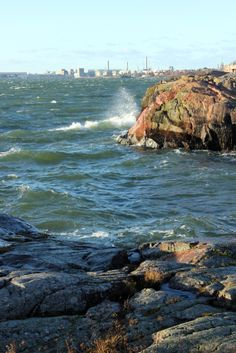 Here you can see how close the Helsinki-City is. November in Suomenlinna 2013