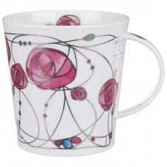 Renfrew - Pink Cairngorm shape Mug