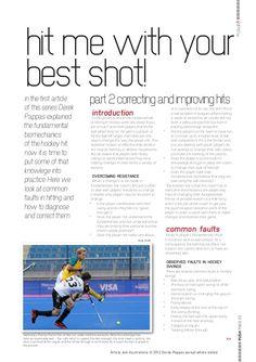 PUSH Hockey Magazine Hitting article part 2