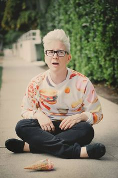 YouTube 30 Day Challenge: Day 3: First YouTuber you subscribed to, Tyler Oakley...probably