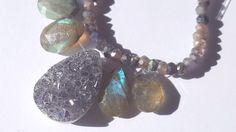 Assorted Druzy Faceted Labradorite Stones lot. Wedding-Bride maids-Delicate Necklace-Semi Precious. by MonaMiaGalleria on Etsy https://www.etsy.com/listing/516536561/assorted-druzy-faceted-labradorite