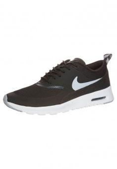 Nike Sportswear - AIR MAX THEA - Matalavartiset tennarit - black/wolf grey/white