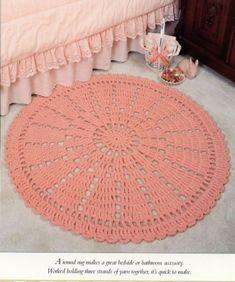 Round Wheel Rug Vanna Crochet PATTERN/INSTRUCTIONS Leaflet in Crafts, Needlecrafts & Yarn, Crocheting & Knitting   eBay