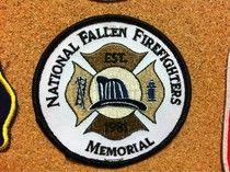 National Fallen Fighters Memorial Patch - Saukville Wisconsin Fire Department.